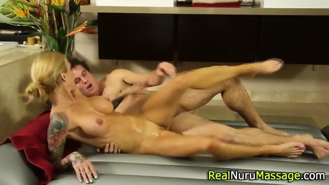 Wam masseuse jizz drench - scene 12