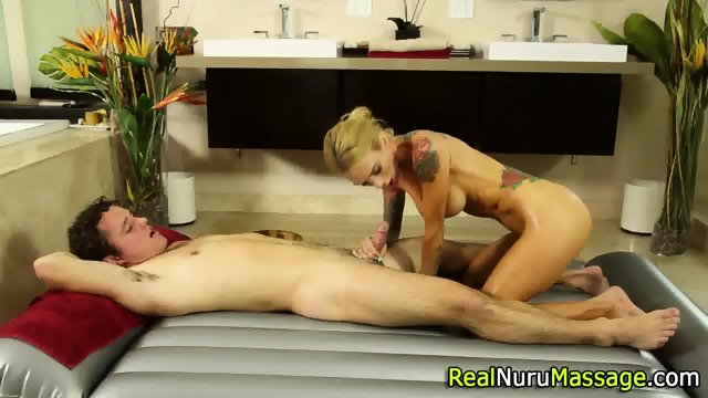 Wam masseuse jizz drench - scene 1