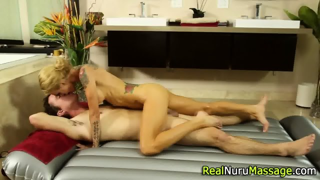 Wam masseuse jizz drench - scene 2