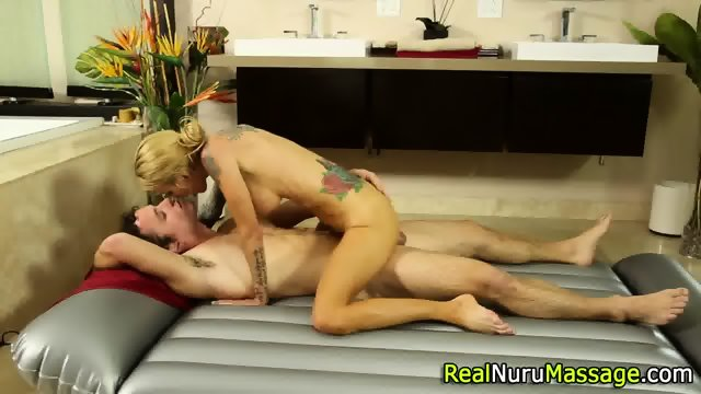 Wam masseuse jizz drench - scene 7