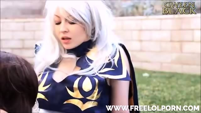 Ashe And Caitlyn Cosplay - scene 10