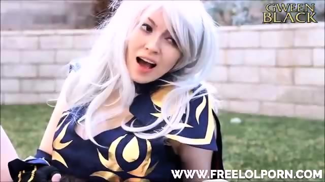 Ashe And Caitlyn Cosplay - scene 12