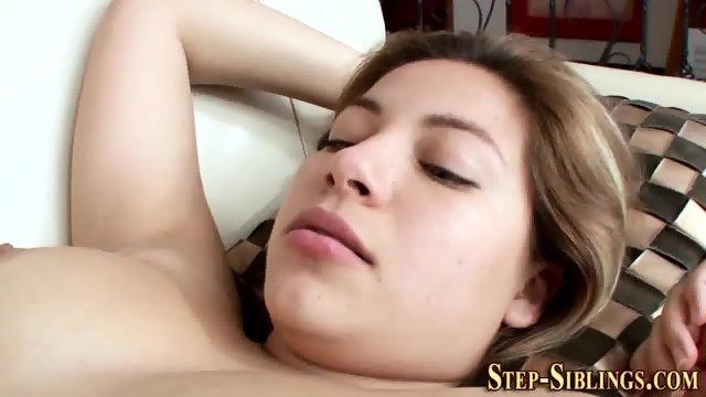 Teen lesbian eats muff - scene 9
