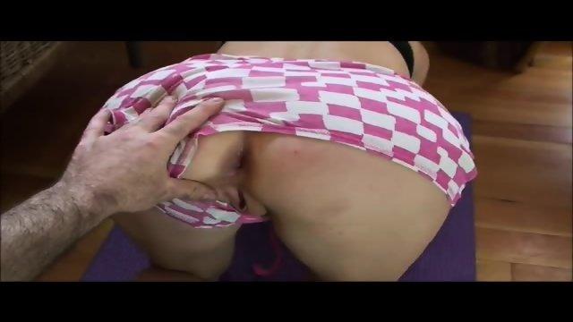 Stepbrother Cums in My Bedroom - NakedCamWomen.com - scene 1