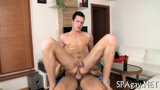 Provocative gay blowjob - scene 11