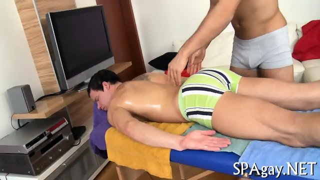 Provocative gay blowjob - scene 3