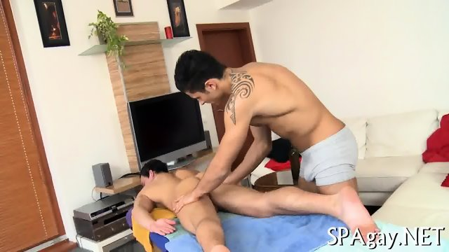 Provocative gay blowjob - scene 4