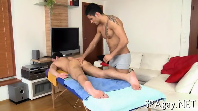 Provocative gay blowjob - scene 5