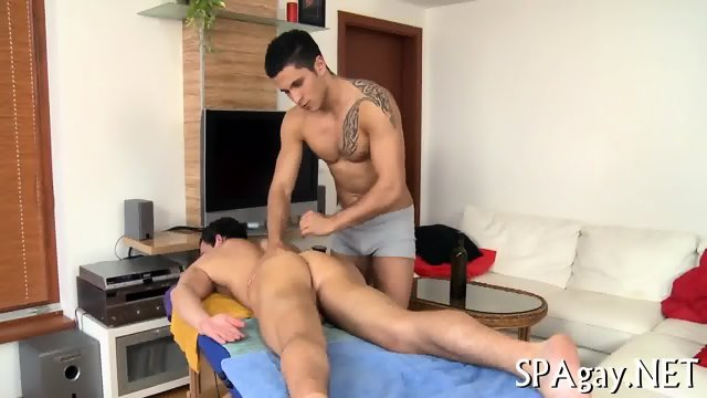 Provocative gay blowjob - scene 7