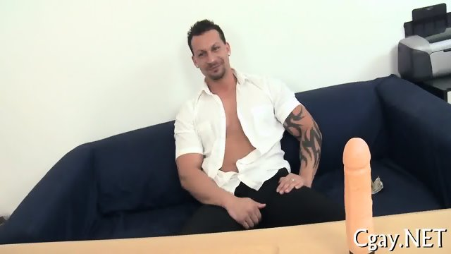 Rough and wild gay fuck - scene 7