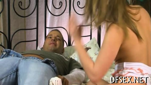 Hot orgasms for a young babe - scene 1