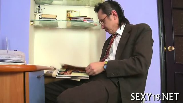 Delightful anal sex with teacher - scene 4