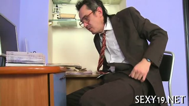 Delightful anal sex with teacher - scene 5
