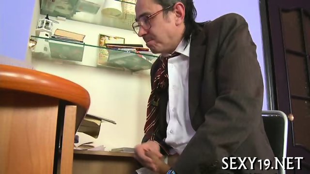 Delightful anal sex with teacher - scene 7