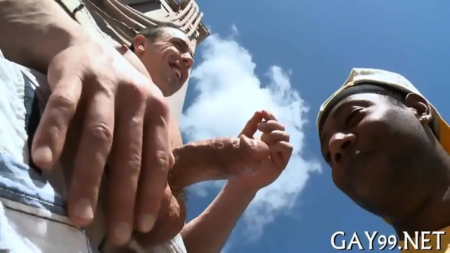 HQ interracial gay action - scene 6