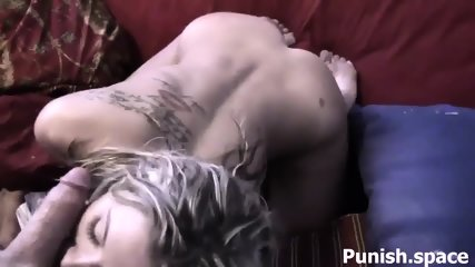 Blonde Getting Rough Sex Session - scene 10