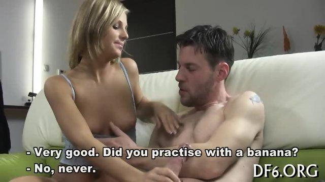 He squeezes in to fuck - scene 7