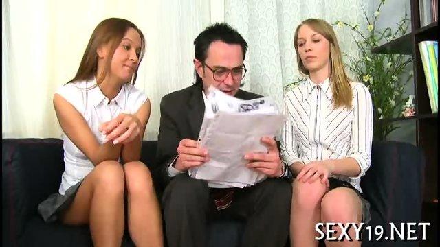 Teacher pounds babe senseless - scene 9