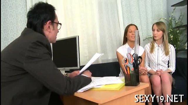 Teacher pounds babe senseless - scene 3