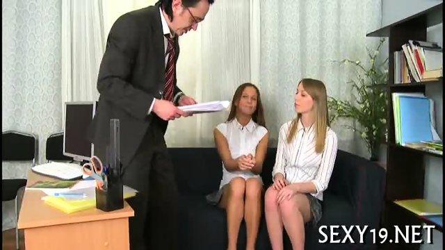 Teacher pounds babe senseless - scene 6