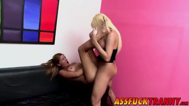 Sexy tranny loves having Celestes big dick inside her ass - scene 10