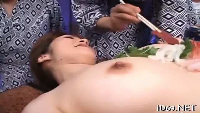 Rough and racy group banging - scene 1