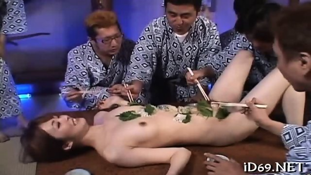 Rough and racy group banging - scene 6