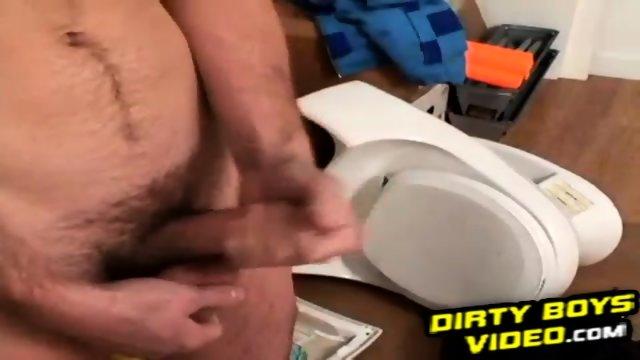 Cute amateur twink pleasures himself in his own bedroom - scene 5