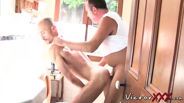 Jason Park and Victor Cody have hard fuck in the bedroom