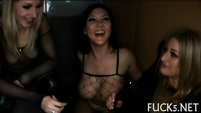 Racy cock riding session - scene 5