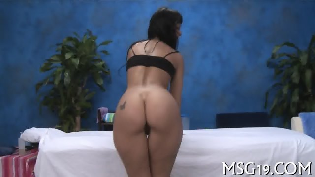 Babe banged in a massage room - scene 2