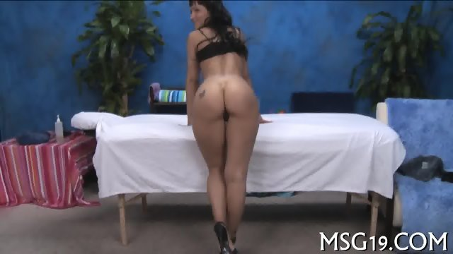 Babe banged in a massage room - scene 3