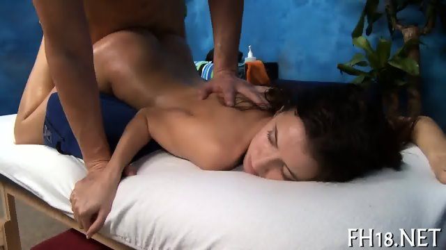 Explicit massage stimulation - scene 12