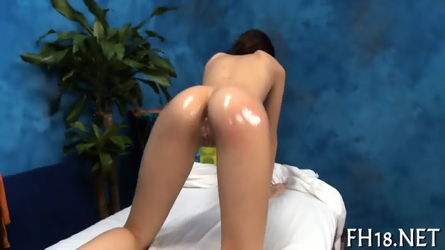 Explicit massage stimulation - scene 5