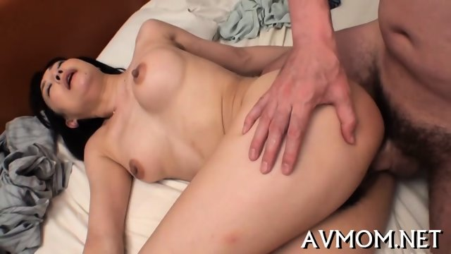 Slim milf loves riding cocks - scene 12