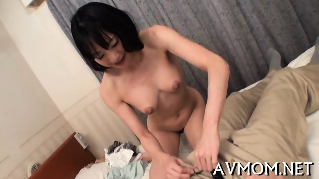 Slim milf loves riding cocks - scene 1
