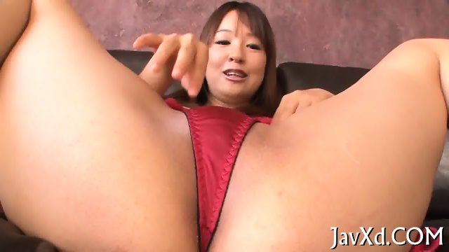 Sex with hairy Asian gal - scene 7