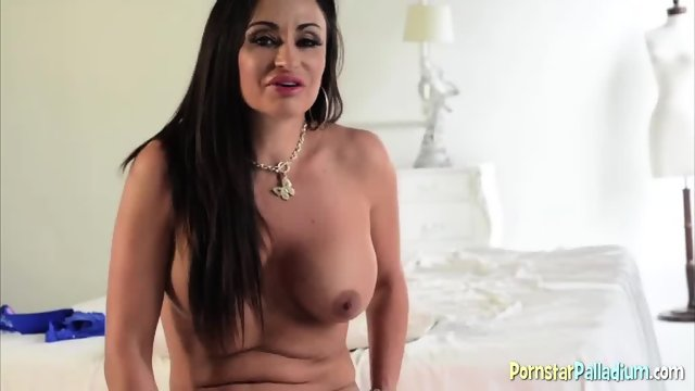 Hot Brunette Tries Out Her New Toy - scene 8