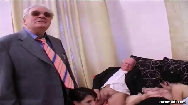 Group sex with grannies - scene 3