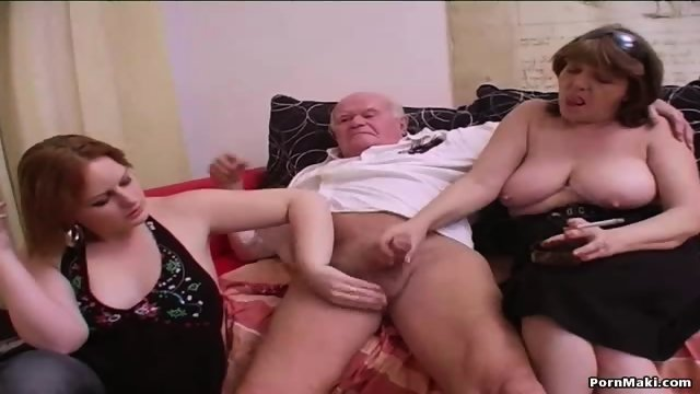 Group sex with grannies - scene 5