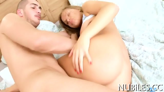 Teen babe gets screwed - scene 11