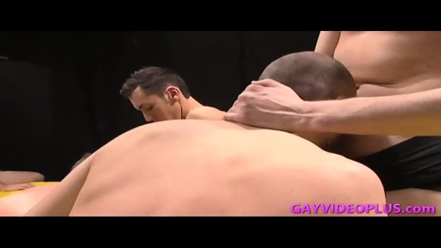 Hot Gay Guys Organize Oral Orgy - scene 5
