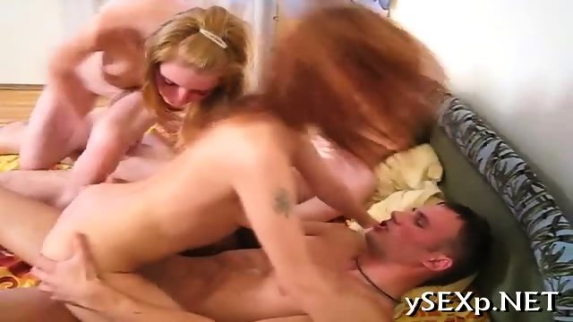 Incredible two-on-two sex - scene 6