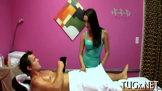 Massage can actually include sex - scene 9