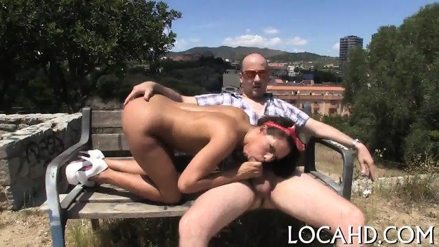 Pussy-hammering in hard style - scene 12