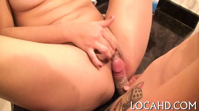 Interracial fuck with a hot gal - scene 11