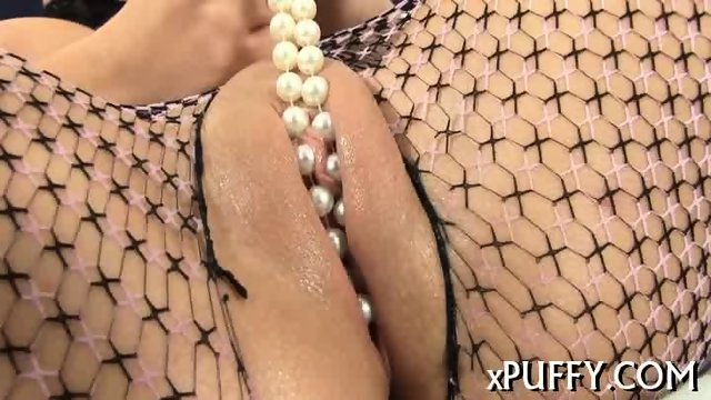 Slippery wet dildo plowing - scene 8
