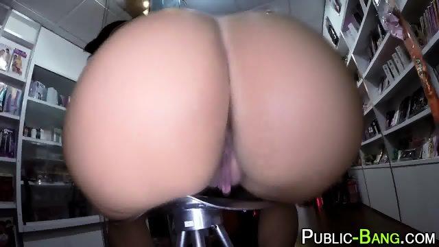 Latina fucks in public - scene 4