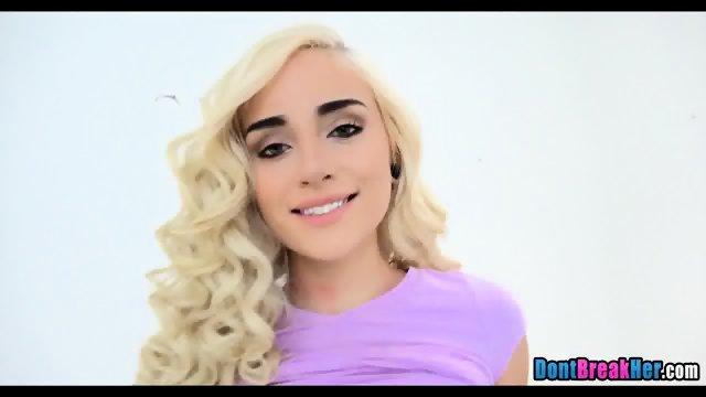 gorgeous blonde amateur - scene 7