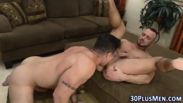 Big sexy hunk gets cummed - scene 6